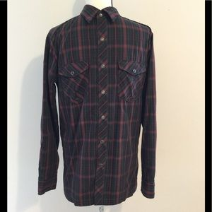 """Kuhl """"Eluxur"""" shirt with """"Ionik"""", pearl snaps, S"""
